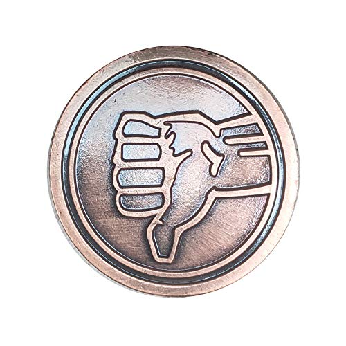 The Bad Place Senior Staff Lapel Pin Brooch Badge The Good Place fans gift Shawn cosplay,Great for Portal Travel