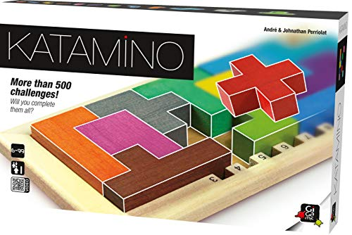 GIGAMIC Katamino - Puzzle Game for one player (GZKC)