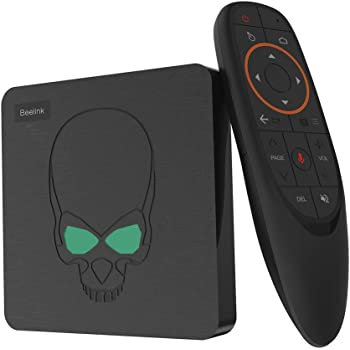 Beelink GT King TV Box Android 9.0 Amlogic S922X Hexa-core G52 MP6 Graphics 4GB DDR4 64GB ROM 2.4G + 5.8G WiFi Bluetooth 4.1 4K 60fps Support 2.4G Voice Remote Control