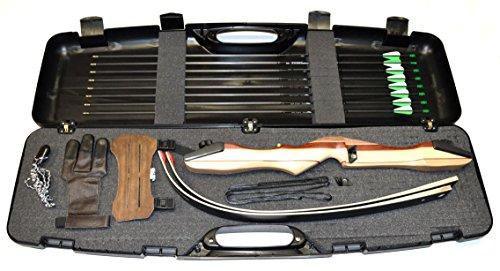 Bogenset Einsteigerset Recurvebogen Ragim Wildcat Plus mit Koffer
