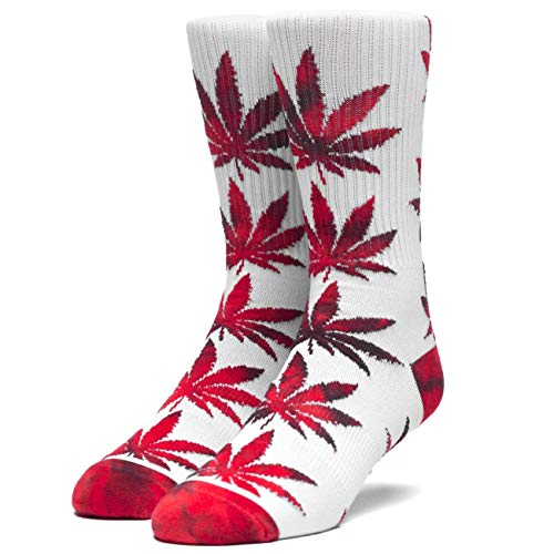 HUF Socken Plantlife Tiedye Leaves, Apple, One Size