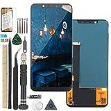 RongZy Pantalla para XiaoMi Mi 8 M1803E1A Táctil LCD de Repuesto Ensamblaje Digitalizador Reemplazo para XiaoMi Mi 8 M1803E1A con Herramientas de Reparación(Negro)