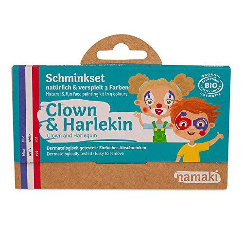 Namaki cosmetics Schminkset Clown & Harlekin
