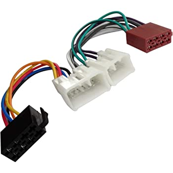 AERZETIX Adaptador E6 con ISO cables enchufes para autoradio
