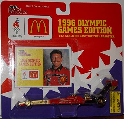 1996 Olympic Games Edition 1 64 Die Cast Top Fuel Dragster by Racing Champions