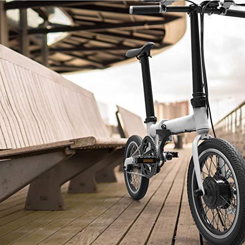 SHIJING Elektrische vouwfiets, 16 inch, afneembare batterij, grote fiets, super lichte fiets, 2 stuks