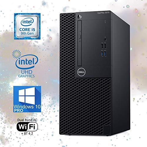 Dell Optiplex 3070 Mini-Tower Computer, Intel Core i5-9500 Upto 4.40 GHz, 16GB RAM, 1TB M.2 NVMe SSD, Wi-Fi, Bluetooth, DisplayPort, HDMI, DVD-RW - Windows 10 Pro