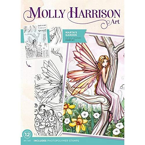 Molly Harrison Photopolymer Stempel, Marta's Garden