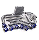 3' aluminio aleación Intercooler de montaje frontal FMIC Kit