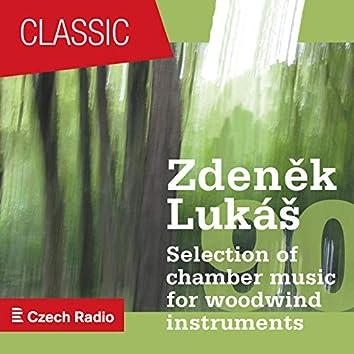 """Zdeněk Lukáš """"90"""": Selection of Chamber Music for Woodwind Instruments"""