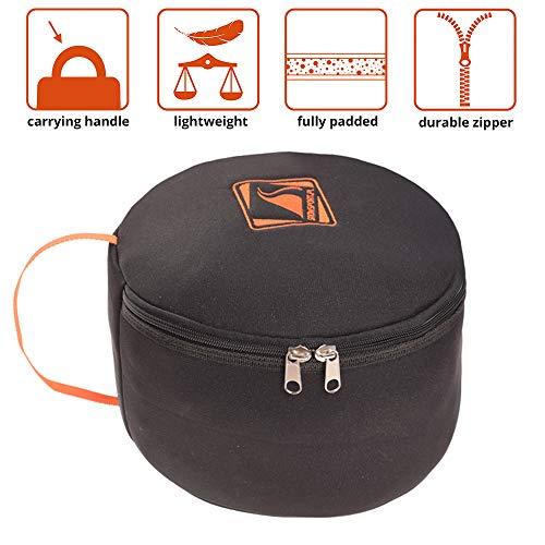 Helmtas voor skihelm, snowboardhelm en toebehoren helmtas Prestige - dik gevoerd, compact en handig