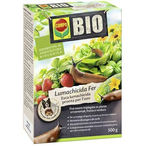 Fer Compo Bio Lumachicida PFnPE 500gr Biologico per Frutta Verdura e ortaggi Antilumache