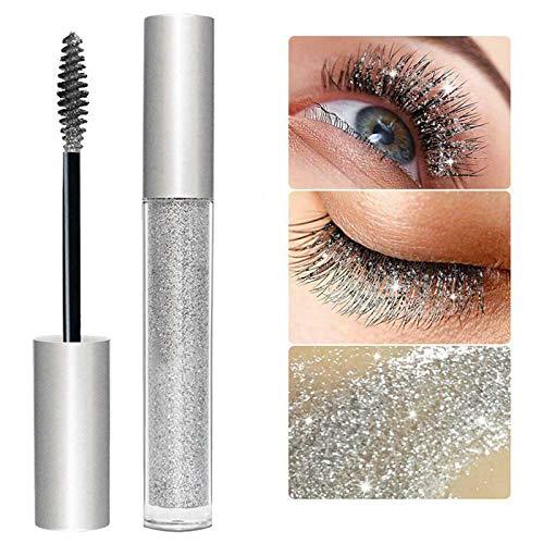 Diamond Glitter Lashes Mascara-Waterproof Long-lasting Quick-drying Beauty Extreme Length Mascara...