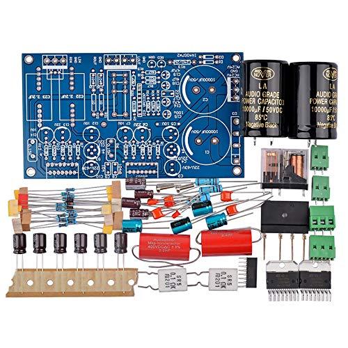 DomilayTDA7294 Audio VerstäRker Platine 70Wx2 Zwei Kanal Lautsprecher Schutz LeistungsverstäRkerplatine DIY Kit DIY Sound System Lautsprecher