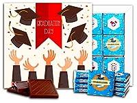 """DA CHOCOLATE キャンディ スーベニア """"卒業"""" チョコレートセット 5×5一箱 (Hat)"""