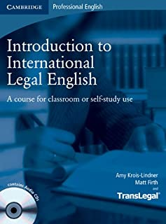 Introduction to International Legal English Student's Book with Audio CDs (2) and Glossary Pack Polish edition: A Course f...