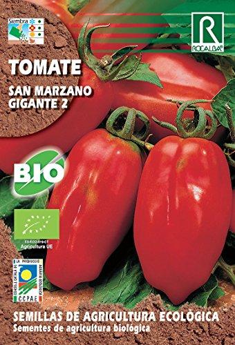 Semillas ECOLOGICAS Tomate San Marzano Gigante II 0.5 gr.