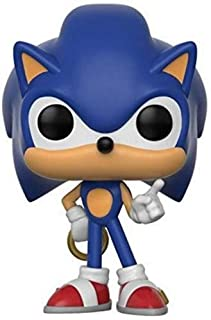 Boneco Funko Pop Games Sonic - Sonic W/ Ring Funko Pop Na