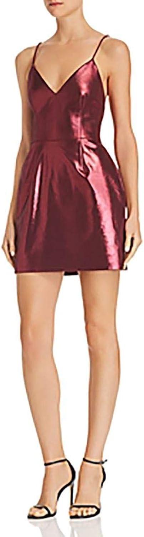 Ronny Kobo  Women's Mirabelle Dress  Burgundy