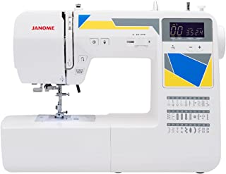 Janome MOD-30 Computerized Sewing Machine with 30 Built-In Stitches, 3 One-Step Buttonholes, Drop Feed and Accessories