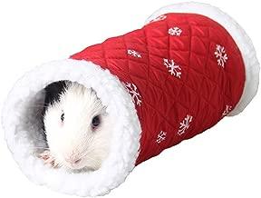 Gutyan Bed House Hamster Tunnel Small Animal House Nest Acogedor y cálido Felpa de algodón Cama para Dormir Cueva Accesorios para hámster Ardilla