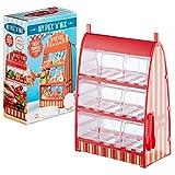 Preis am Stiel Dispensador de caramelos con 9 cajones y una pinza | Máquina para caramelos | Recipientes de caramelos | Idea de regalo | Dispensador de dulces para niños | máquinas automáticas