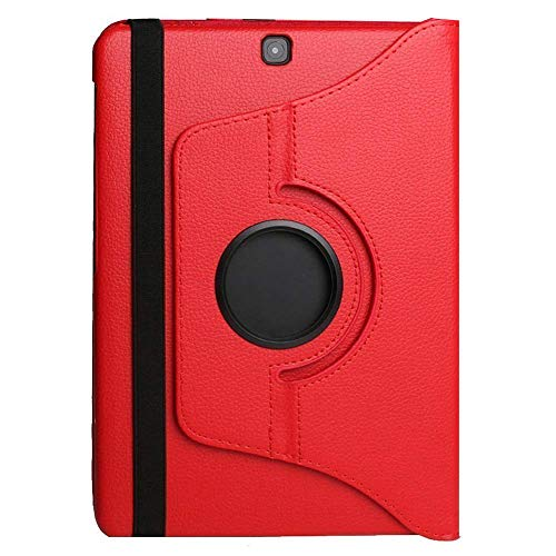 Suney Protective Cover for 2019 Galaxy Tab A 10.1(SM-T510/T515),Easy Viewing Duralble PU Leather 360 Degree Rotating Multiple Viewing Angles for Samsung 2019 Galaxy Tab A 10.1(SM-T510/T515) - Red