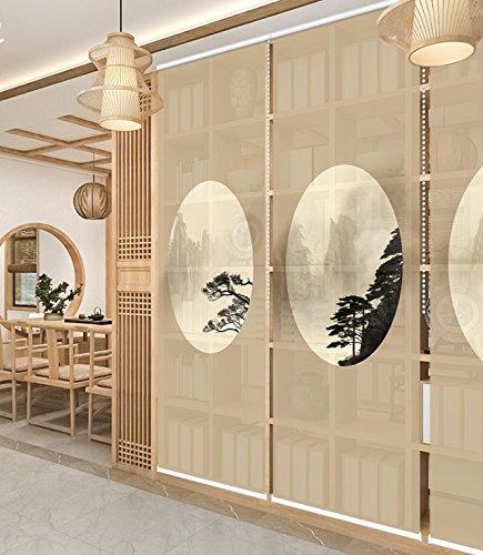 Luckome Art Home - Pantalla de privacidad Japonesa para Puerta corredera, Pantalla para Puerta: Amazon.es: Hogar