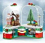 sembo Block Merry Chrismas Theme Tree Santa Calus Elk City House Building Block Education Brick Kid Toy 61090