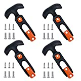 Creatyi 4 PCS Cooler Latch Replacements Durable Cooler Replacement Lid Latches (Orange)