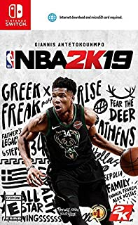 NBA 2K19 - Nintendo Switch (B07DQ43VFQ) | Amazon price tracker / tracking, Amazon price history charts, Amazon price watches, Amazon price drop alerts