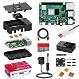 Bqeel Raspberry Pi 4 Model B 【2GB RAM+64GB SD Card 】con 4K,BT 5.0,WiFi 2.4G/5G/1000M Ethernet,2*USB 3.0/USB 2.0,USB-C Adaptador de Corriente con Interruptor