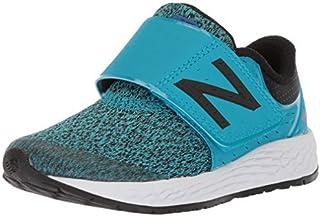 New Balance Boys' Zante v4 Hook and Loop Running Shoe Maldives Blue 7.5 M US Toddler [並行輸入品]