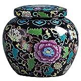 Angelay-Tian Grabado Personalizado Pequeñas urnas de Recuerdo para Cenizas CeramicMemorial Ashes Holder Soporte de Recuerdo Decorativo para Las Cenizas humanas (Color : B)