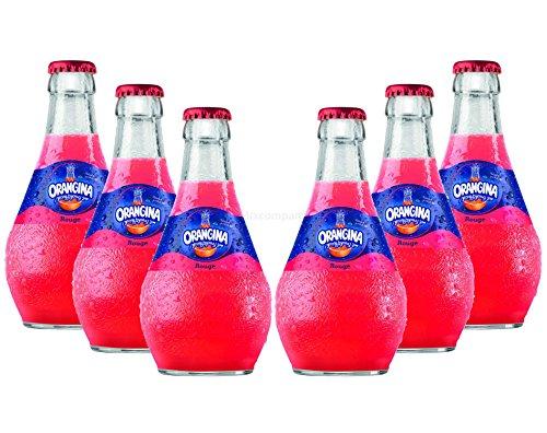 Orangina Rouge Limonade - 6x250ml = 1500ml - Inkl. Pfand MEHRWEG