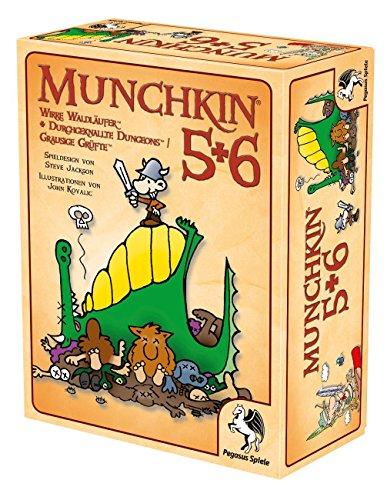 Pegasus Spiele - Juego de Mesa Munchkin 5+6 17225G (el Contenido Puede no Estar en español)