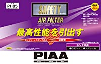 PIAA エアーフィルター 1個入 [ホンダ車用] シビック・ストリーム_他 PH85