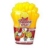 FunnyCandy Frites Spray Caramelo Líquido En Spray Para Vaporizar- Con Forma De Patatas Fritas, 3 Sabores Distintos, 12 Unidades