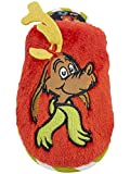 Grinch Boy's Max The Dog Fuzzy 3D Slippers, (Size 9/10, Red Multi)