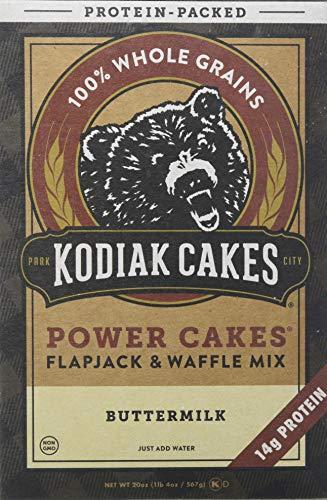 Kodiak Cakes Kuchen Energie Kuchen Protein Verpackt - Flapjack und Waffel-Mix, Buttermilk, 200 g