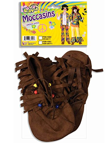 Forum Novelties Child's Native American/Hippie Novelty Moccasins - http://coolthings.us
