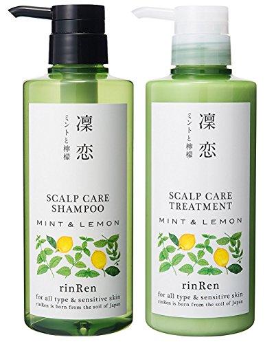 凛恋 リンレン レメディアル シャンプー 400ml トリートメント 400ml ミント&レモン (医薬部外品)