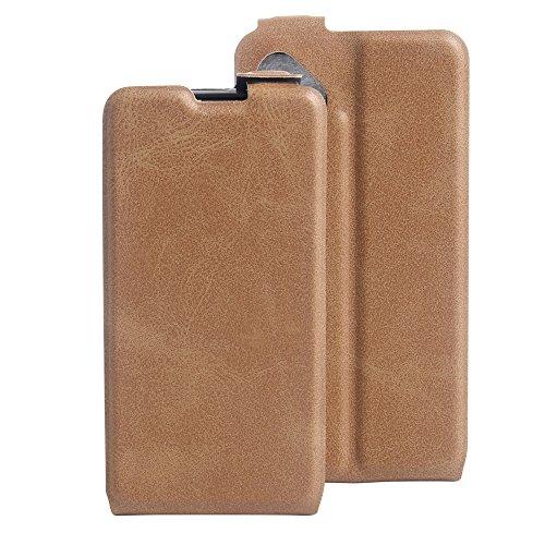 Litao-Case CN Hülle für wiko b Kool Sunny hülle Flip Leder + TPU Silikon Fixierh Schutzhülle Case 5