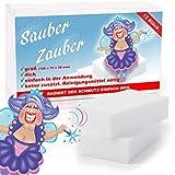 BenniCamp Schmutzradierer [12 Stück] | CLASSIC Fleckenradierer | 120x70x30 mm | Fleckentferner in XXL | Wunderschwamm