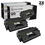 LD Compatible Toner Cartridge Replacement for Canon 120 (Black, 2-Pack)