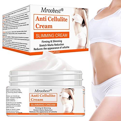 Anti Cellulite, Cellulite massage Creme, Cellulite Creme, Anti Cellulite, Straffende Crème aktiviert die Haut zur Verbesserung der Hautkontur, Hilfe Bei Orangenhaut und Celluliti - 100G