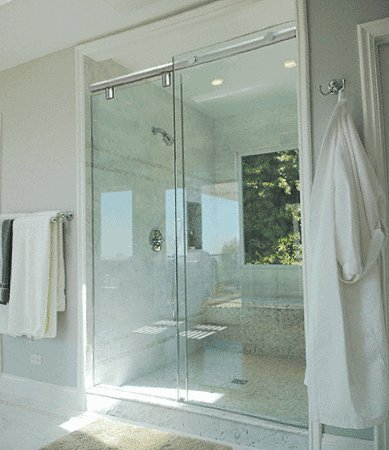 CRL 60' Polished Chrome Hydroslide 180 Degree Standard Sliding Shower...
