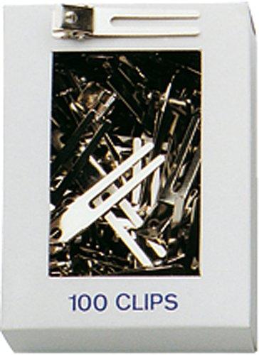 Fripac-Medis stalen haarclips C-2010, twee benen, glad, doos met 100 stuks Haarclips. glatt,zweischenklig