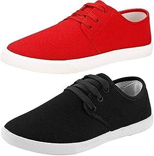 Ethics Men's L Red Black Sneaker