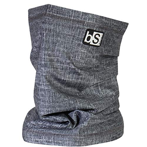 BLACKSTRAP The Tube, Dual Layer Cold Weather Neck Gaiter and Warmer for Men and Women (Tweed Black)